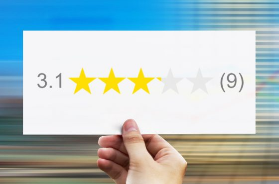 Poor Star Rating Hurts Your Business
